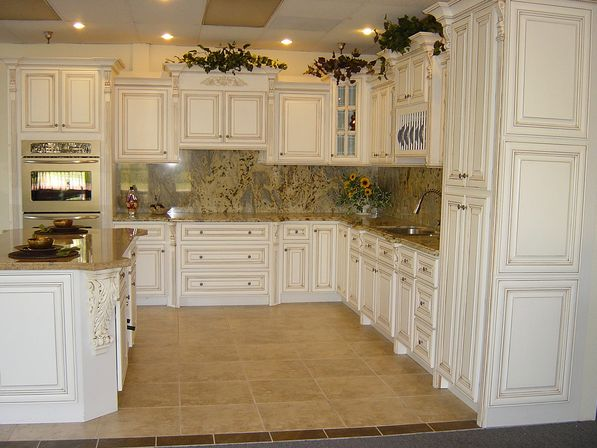 Off White Kitchen Cabinets With Antique Brown Granite ☆▻ kitchen cabinet : cheerful off white kitchen cabinets modern
