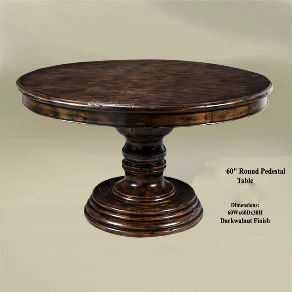inventia design french provincial round dining table with round rustic kitchen table Round Kitchen Table Rustic Best Kitchen Ideas