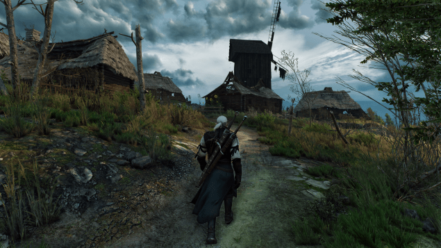 The Witcher 3: Wild Hunt during 4K