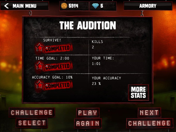 Audio Defence: Zombie Arena App  Review