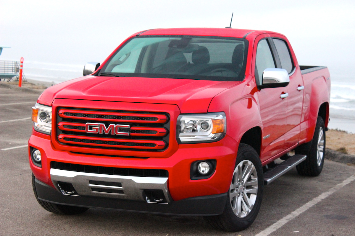 Preview  2015 Chevrolet Colorado and GMC Canyon   BestRide GMC Canyon Front Beach 2 Bestride
