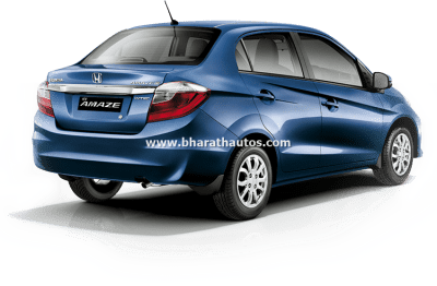 2016 Honda Amaze (facelift) launched at RS. 5.29 lakh
