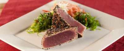 Seared Ahi Tuna   Big Green Egg
