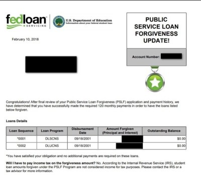 An Interview with a Person Who Received PSLF Forgiveness – The Biglaw Investor