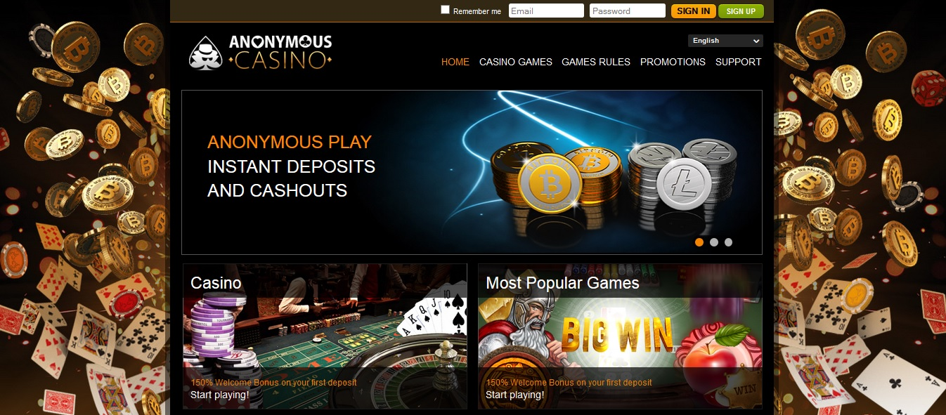 Anonymous Casino – Provably Fair Bitcoin and Litecoin Gambling For Punters Worldwide