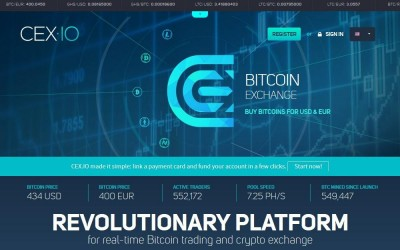 CEX.IO Bitcoin Exchange Launches Ethereum Trading