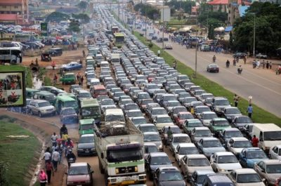 Traffic Jam Results In Nairobi Being Ranked The Second-Worst City In The World