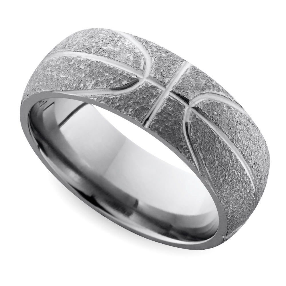 cool mens wedding rings for sports fanatics cool wedding rings men s wedding rings