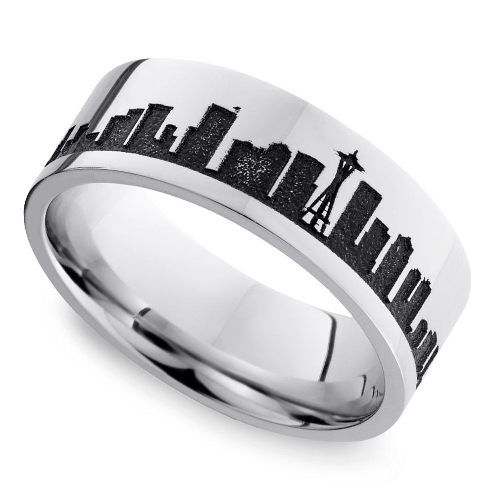 12 nerdy wedding rings for men gamer wedding rings nerdy wedding rings10