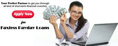 Faxless Payday Loans|No Fax Loans|CashOne