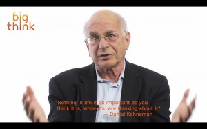 Daniel Kahneman: How Memory + Experience Create and Influence Happiness