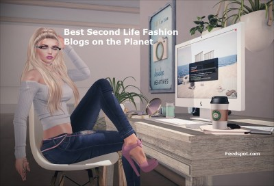 Top 40 Second Life Fashion Blogs and Websites on the Web