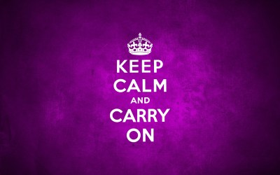 9 HD Keep Calm and Carry On Wallpapers
