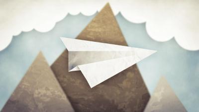 5 Fantastic HD Paper Airplane Wallpapers