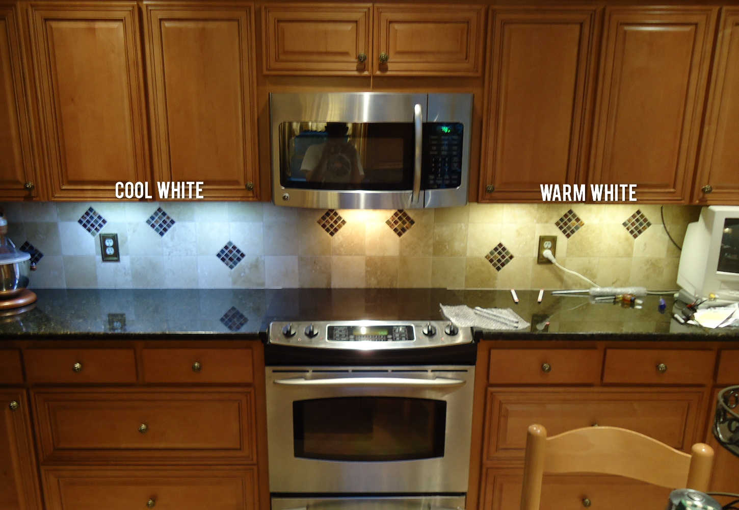 led light color temperature warm vs cool white led kitchen lights All of our LED lights are offered in two main colors Cool White and Warm White