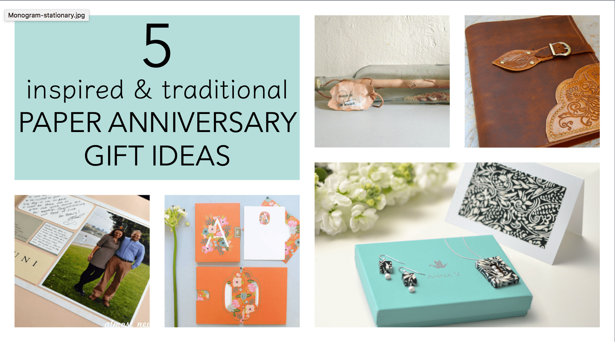 5 traditional paper anniversary gift ideas for her first wedding anniversary gift 5 Traditional Paper Anniversary Gift Ideas for Her