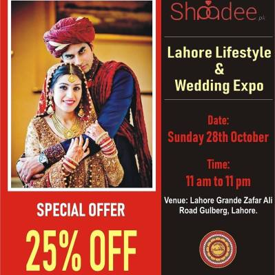 Shaadee.pk at Wedding expo and Lahore Lifestyle event ...