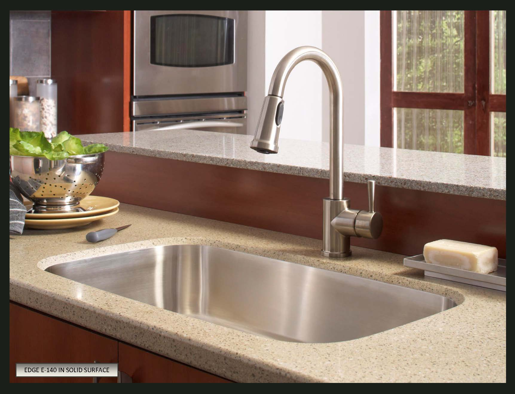 choose sink solid surface countertops undermount kitchen sinks Karran Undermount Stainless Steel Sinks