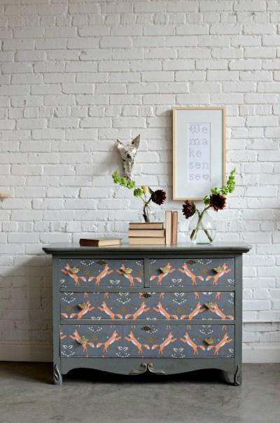 Dresser Upcycle | DIY Home Decor | Spoonflower Blog