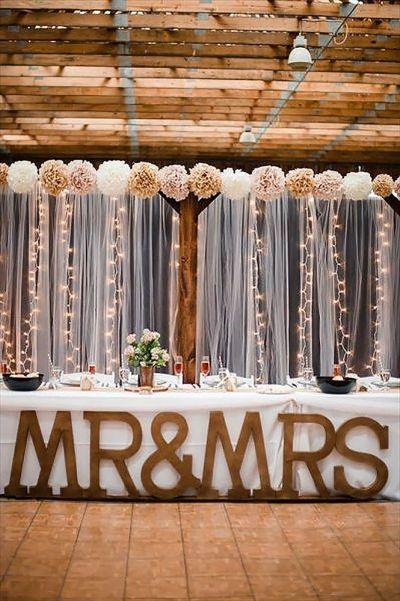 30 Stunning and Creative String Lights Wedding Decor Ideas ...