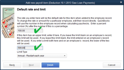 employee loan deduction saw | QuickBooks for Contractors blog