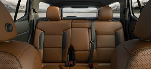 Seating capacity of the 2018 GMC Acadia 2018 GMC Acadia 5 passenger configuration