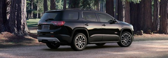 Seating capacity of the 2018 GMC Acadia
