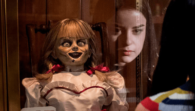 See Your Reflection in a New Shot from 'Annabelle Comes Home' - Bloody Disgusting