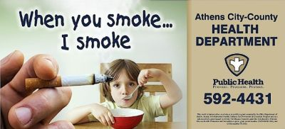 New local campaign focuses on dangers of secondhand smoke | Connect | athensmessenger.com