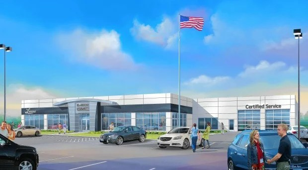Collinsville car dealership looking to expand   Local Illinois News     Laura Buick GMC