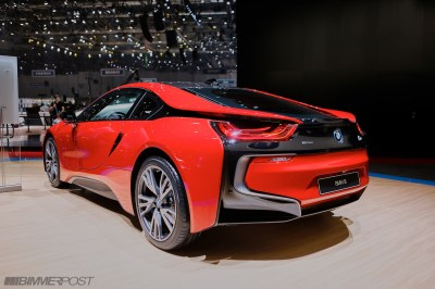 New Limited Edition BMW i8 Protonic Red Edition (w/ Geneva Auto Show Pics)