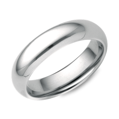comfort fit wedding ring palladium palladium wedding bands Comfort Fit Wedding Ring in Palladium 5mm