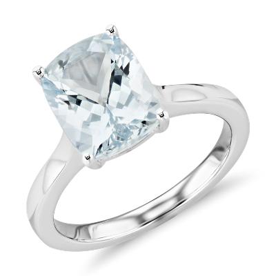garnet cushion cut ring 14k white gold aquamarine wedding rings Need Help