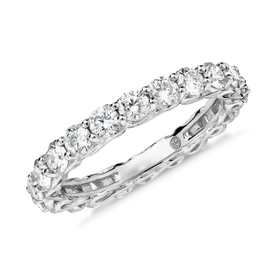 colin cowie infinity diamond eternity ring platinum 2 ctw infinity wedding band Colin Cowie Infinity Diamond Eternity Ring in Platinum 2 ct tw