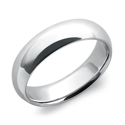 comfort fit wedding ring platinum platinum wedding bands Comfort Fit Wedding Ring in Platinum 6mm