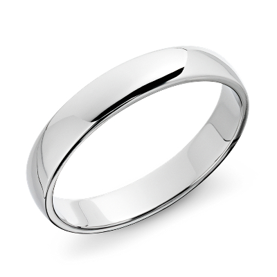 top ten mens wedding rings male wedding bands Classic Wedding Ring in Platinum 4mm
