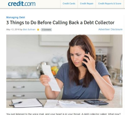 A debt collector called: What now? A before, during and after explainer – bobsullivan.net
