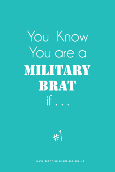 You Know You are a Military Brat if: #1 - A Compass Rose