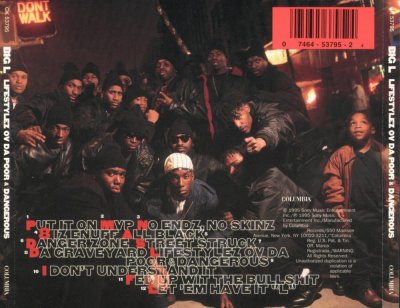 Tetrapak Hip Hop: 1995_Big L - Lifestyles Ov Da Poor And ...
