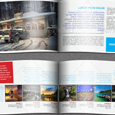 7 Great Travel Brochure Examples and Design Samples   BrandonGaille com Travel Agency Booklet Brochure Example