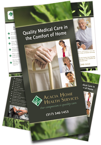 Home Health Care Brochure Samples Acacia Home Health Care Brochure Sample