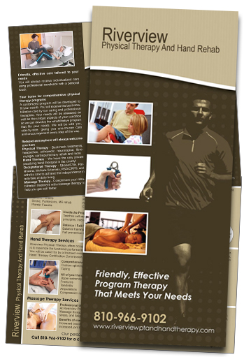 Physical Therapy Brochure Samples Physical Therapy Brochure Sample   Riverview