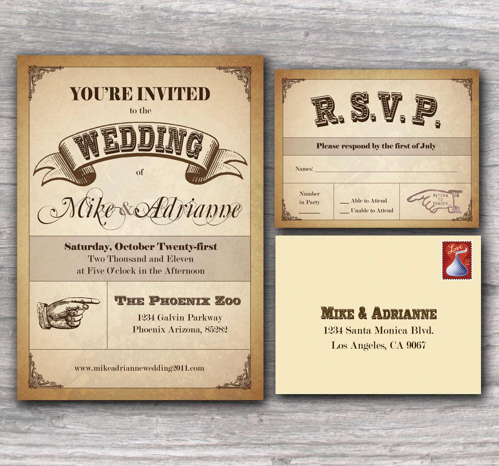 wedding invitation country wedding invitations invite 1
