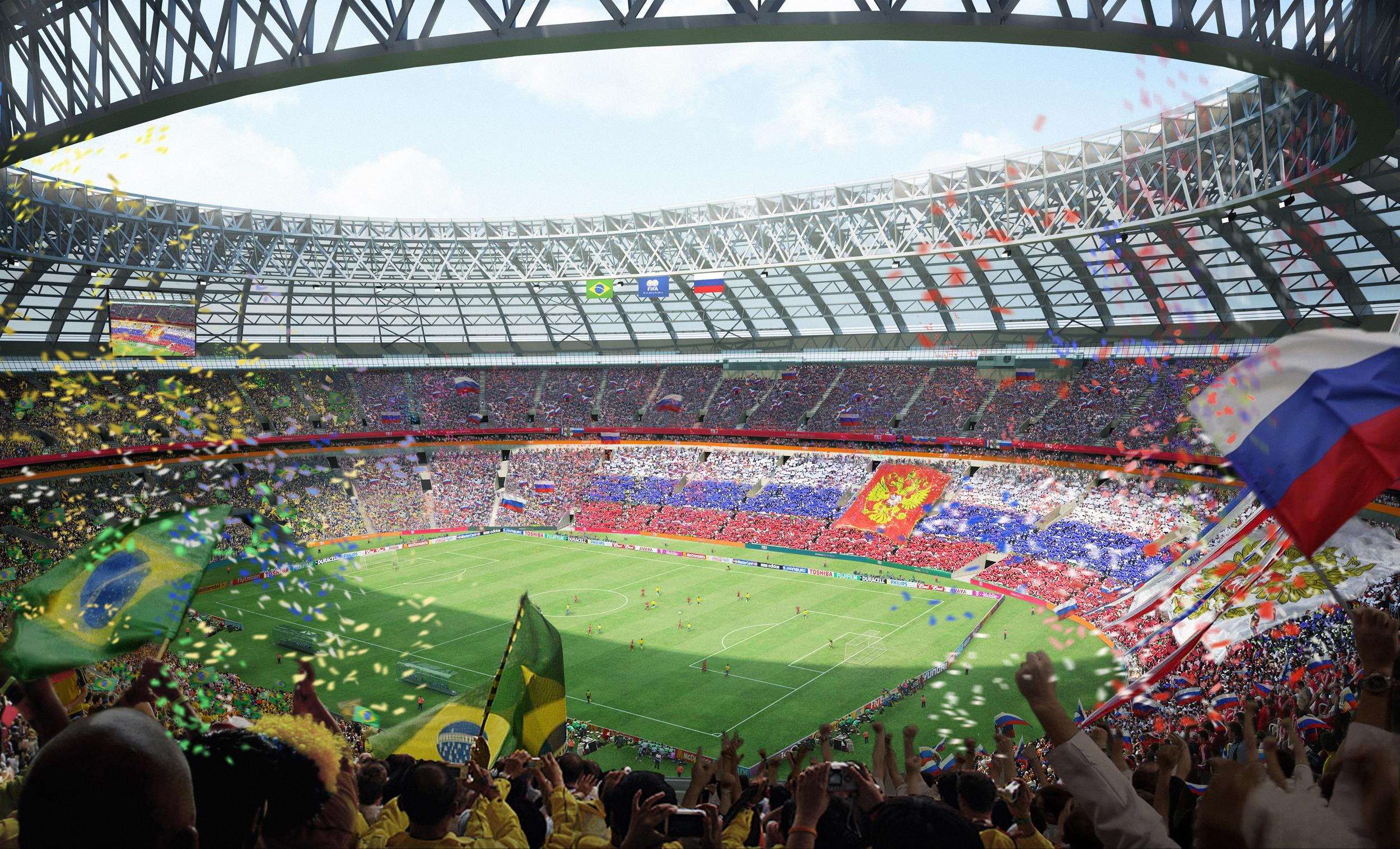 The 2018 FIFA World Cup in Russia attracts belgian companies  Russia     The 2018 FIFA World Cup that takes place in Russia is a real eye catcher  for belgian companies  This project s magnitude might even surpass the 2014  Sochi