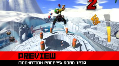 Modnation Racers: Road Trip is better with touch controls