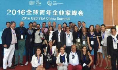 Entrepreneur du G20 YEA : les tribulations de Jonathan Vidor à Pékin, Sydney, Istanbul et Berlin ...