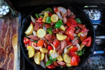 Hot Mess Skillet Camping Food   Buy This Cook That