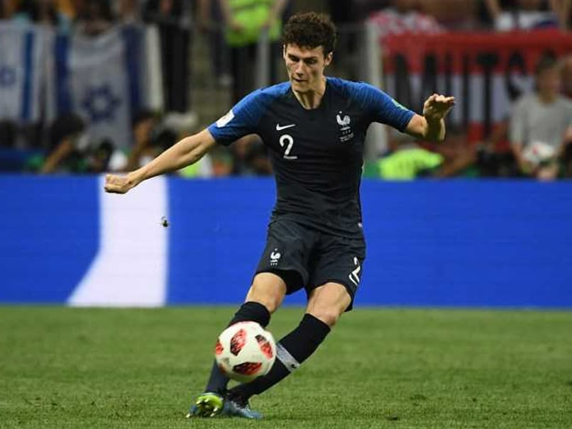 France s Benjamin Pavard Wins World Cup Goal Of The Tournament Benjamin Pavard s goal against Argentina in the last 16 tie won him the  award       AFP