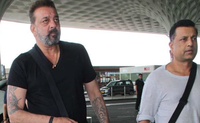 Sanjay Dutt Spotted With Friend Who Inspired Vicky Kaushal s  Kamli     Sanjay Dutt Spotted With Friend Who Inspired Vicky Kaushal s  Kamli  In  Sanju