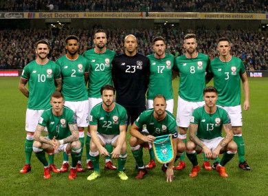 Ireland could be part of 2018 event with World Cup absentees - reports